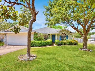 Round Rock Single Family Home For Sale: 1200 Jordan Ln