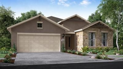 Round Rock Single Family Home For Sale: 3231 Bianco Ter