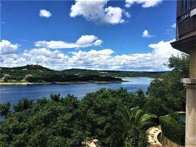 Lake Travis 02, Lake Travis 03, Lake Travis 05, Lake Travis 06, Lake Travis 06 Rep Of Lt 09, Lake Travis 09, Lake Travis 01, Lake Travis 04, Lake Travis 07, Lake Travis Subd. #5, Lot #16a Single Family Home For Sale: 8416 Lime Creek Rd
