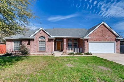 Travis County, Williamson County Single Family Home Active Contingent: 8700 Black Oak St