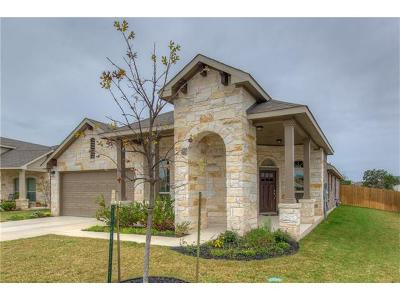 Leander Single Family Home For Sale: 1129 Cotton Patch Trl