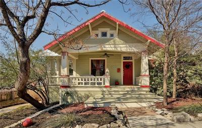 Travis County Single Family Home For Sale: 602 Highland Ave