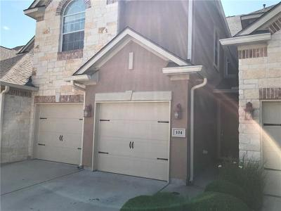 Lakeway Rental For Rent: 104 Perpetuation Dr