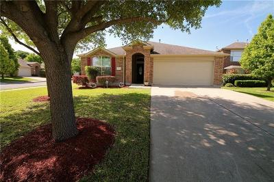 Round Rock Single Family Home For Sale: 2901 Favero Cv