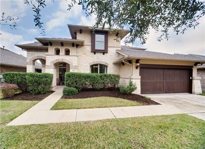 Travis County, Williamson County Single Family Home Pending - Taking Backups: 4327 Angelico Ln