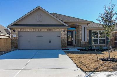 Round Rock Single Family Home For Sale: 1271 Chad Dr