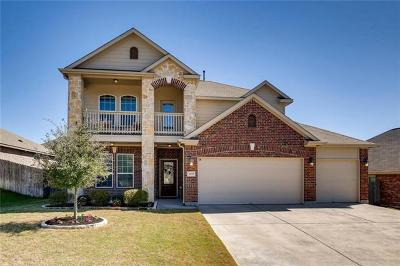 Round Rock Single Family Home For Sale: 3650 Rams Horn Way