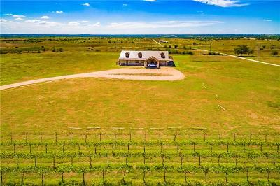 Burnet County, Lampasas County, Bell County, Williamson County, llano, Blanco County, Mills County, Hamilton County, San Saba County, Coryell County Farm For Sale: 3125 County Road 212