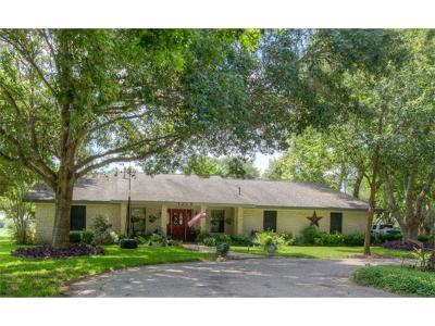 Pflugerville Single Family Home For Sale: 1215 E Pfennig Ln
