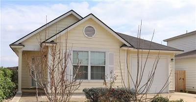 Del Valle Single Family Home For Sale: 5601 War Admiral Dr