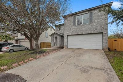 Del Valle Single Family Home Pending - Taking Backups: 13421 Vizquel Loop