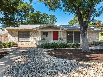 Austin Single Family Home For Sale: 3311 Skylark Dr