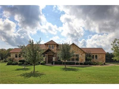 Bastrop County Single Family Home Pending - Taking Backups: 117 Territory Dr