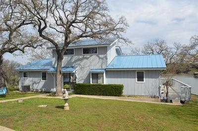 Burnet County Single Family Home For Sale: 701 Lakeshore (Cr 142)