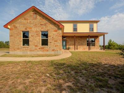 Paige Single Family Home For Sale: 125 Travis Ln