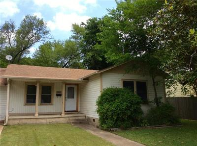 Travis County Single Family Home Pending - Taking Backups: 1000 Ruth Ave