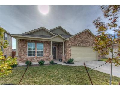 Single Family Home For Sale: 523 Talon Grasp Trl