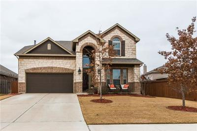 Pflugerville Single Family Home For Sale: 17800 Turning Stream Ln