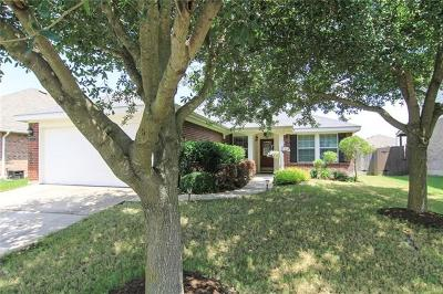 Pflugerville Single Family Home For Sale: 19121 Leigh Ln