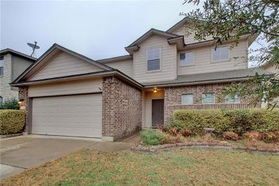 Round Rock Single Family Home For Sale: 2633 Summerwalk Pl