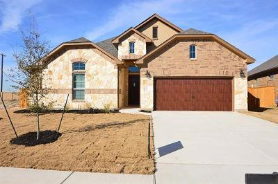 Round Rock Single Family Home For Sale: 3452 Francisco Way