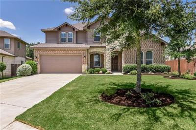 Round Rock Single Family Home For Sale: 119 Paul Azinger Dr