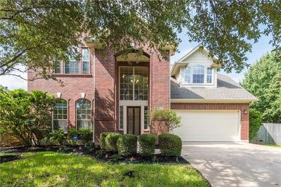 Round Rock Single Family Home For Sale: 7013 Cool Canyon Cv