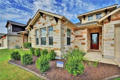 Round Rock Single Family Home For Sale: 8250 Arezzo Dr