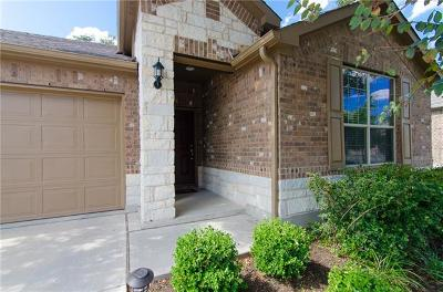 Leander Single Family Home For Sale: 2305 Maxwell Dr