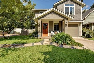 Austin Single Family Home Pending - Taking Backups: 5200 Avenue G #A