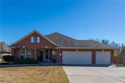 Pflugerville Single Family Home For Sale: 3020 Cajuiles Dr