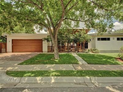 Austin Single Family Home Pending - Taking Backups: 2500 White Rock Dr
