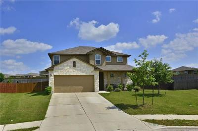 Hutto TX Single Family Home For Sale: $260,000