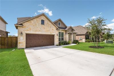 Round Rock Single Family Home For Sale: 3517 De Soto Loop
