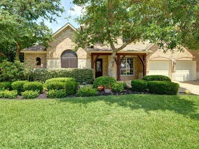 Round Rock Single Family Home Pending - Taking Backups: 1116 Castle Path