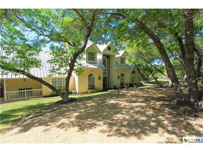 Salado Single Family Home For Sale: 8589 Mountain Dr