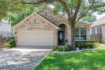 Round Rock Single Family Home For Sale: 2985 Overland St