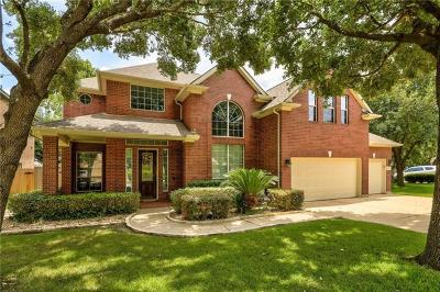 Round Rock Single Family Home For Sale: 3205 Whispering Woods Ct