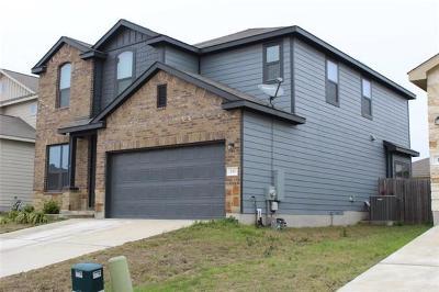 Williamson County Single Family Home For Sale: 153 Ammonite Ln