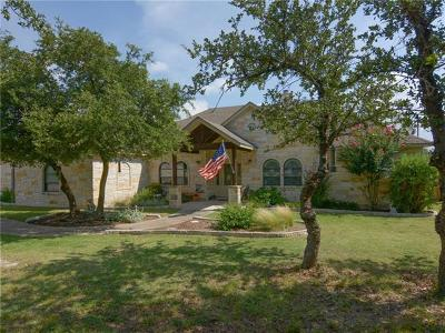 Dripping Springs Single Family Home For Sale: 180 Julieanne Cv