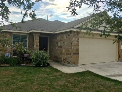 New Braunfels Single Family Home Pending - Taking Backups: 219 Creekview Way