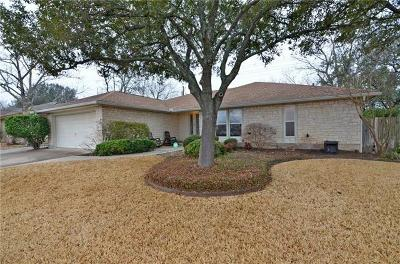 Round Rock Single Family Home For Sale: 900 Deepwood Dr