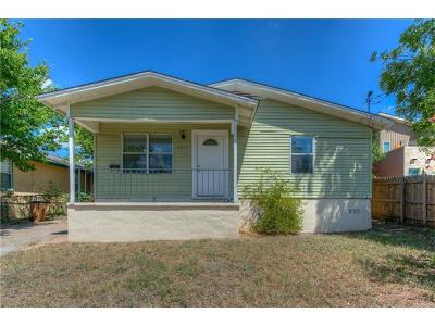 Austin Single Family Home For Sale: 1605 Sanchez St