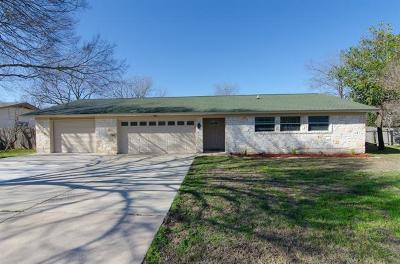 Leander Single Family Home Pending - Taking Backups: 601 Seminole Rd