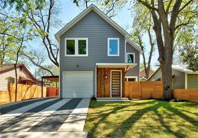 Austin Single Family Home For Sale: 1807 Haskell St #A
