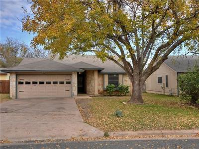 Cedar Park Single Family Home For Sale: 3102 Birch Dr