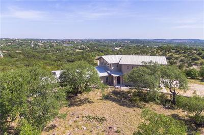 Dripping Springs Single Family Home For Sale: 238 Cartman Overlook