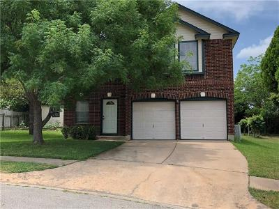 Pflugerville Single Family Home For Sale: 13908 Maricella Ln