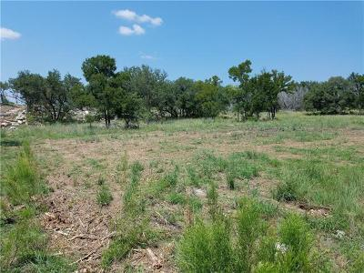 Marble Falls TX Residential Lots & Land For Sale: $86,600