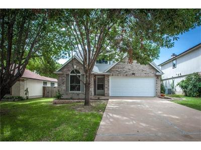 Cedar Park Single Family Home For Sale: 1206 Forest Oaks Path
